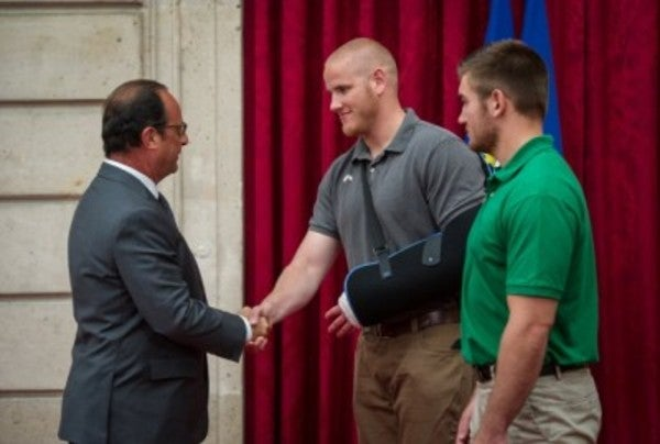 UNSUNG HEROES: The 3 Americans Who Stopped An Armed Gunman On A Train In France