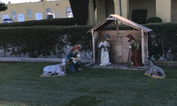 Marines Accused Of Violating Constitution With Jesus Display At Christmas Time