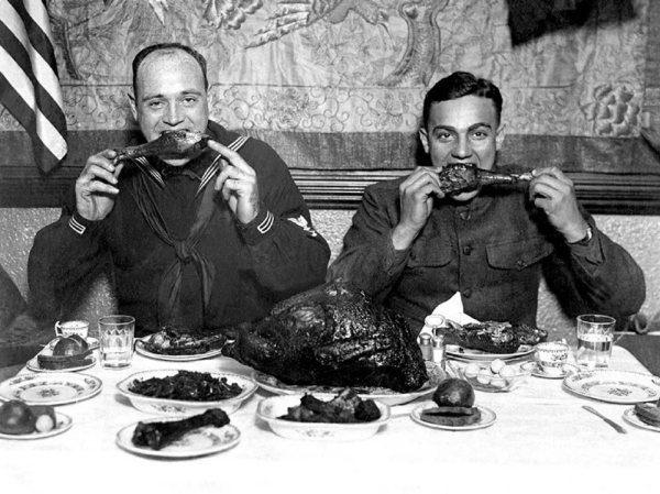 A look at Thanksgiving through the years and wars
