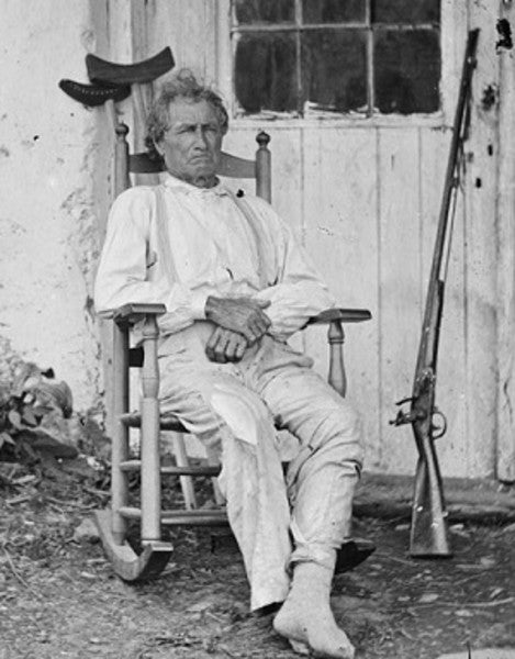 He watched the Battle of Gettysburg from his house, then joined in