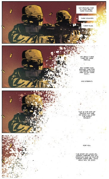 COMIC: The Ultimate Sacrifice Made By 2 Marines In Ramadi