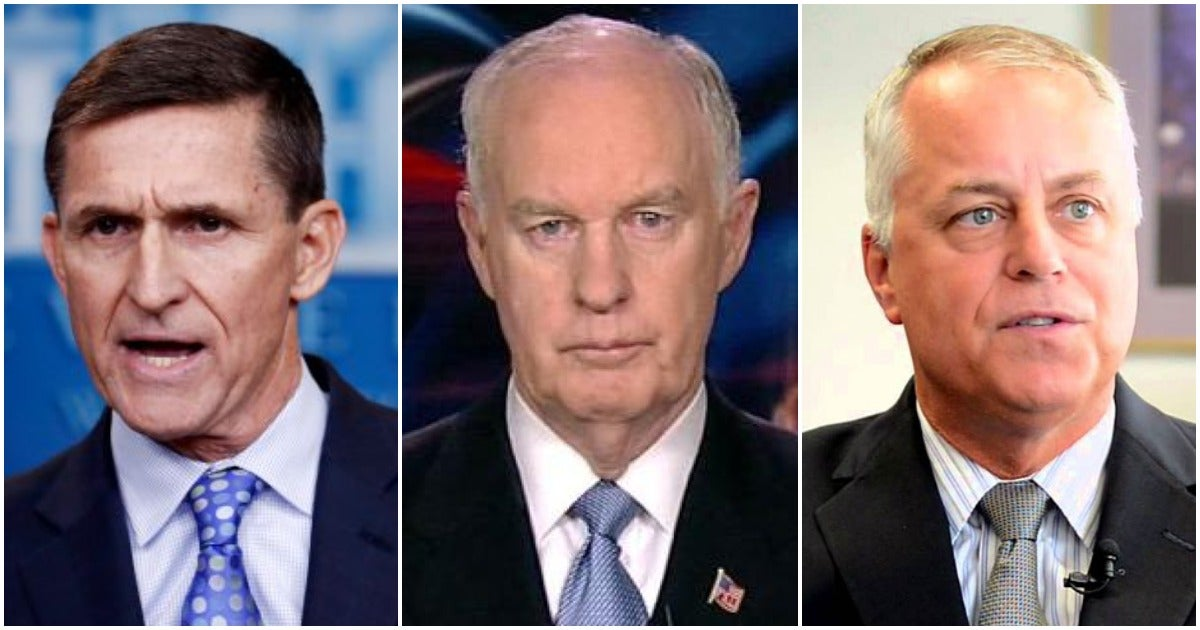 These generals are living proof that you don't need to be smart to get stars on your collar