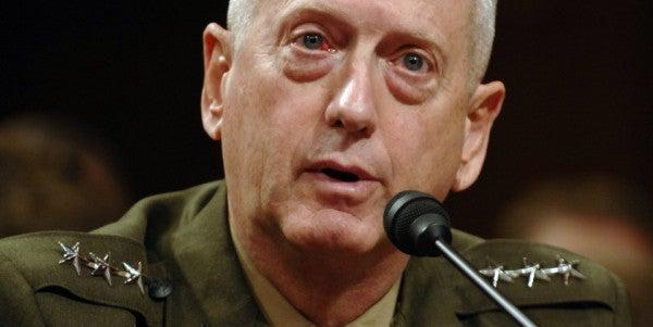 Mattis Tells Congress To Get Politics Out Of National Security