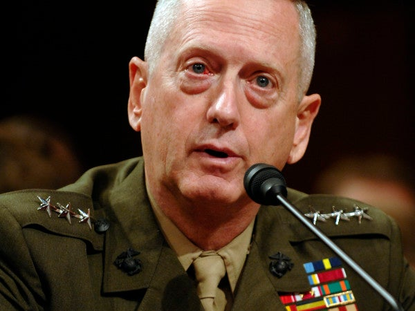 'Mad Dog' Mattis Lights Up Congress Over Sequestration, Gitmo, And The End Of Afghanistan