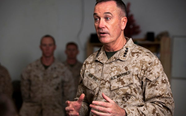 Dunford On The Big Difference Between Iraq And Afghanistan