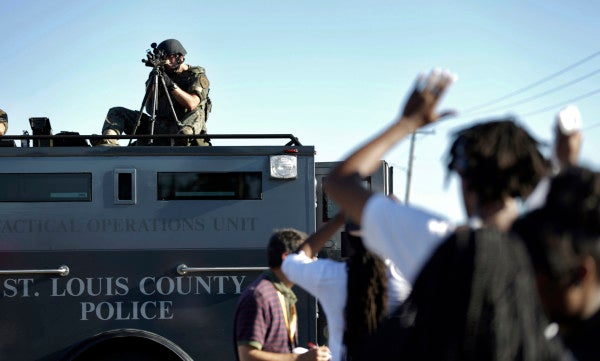 A Peaceful Tactic For A Militarized Police Force