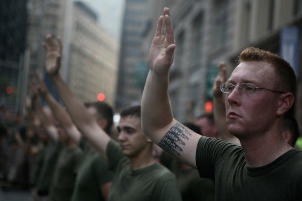 As A Marine I Never Served In A Warzone, But I Still Got To Stick It To Al Qaeda