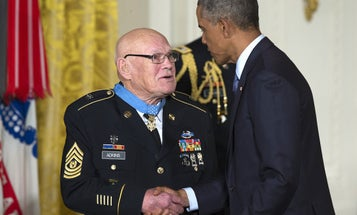 In Monday's Medal Of Honor Ceremony, 2 Vietnam Heroes Were Finally Recognized