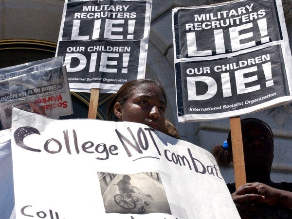 Read The Anti-Military Take-Home Test Issued By One New York College