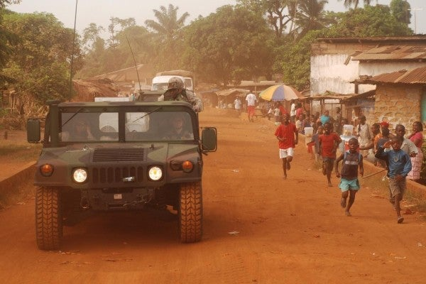 The US Military Should Get Used To Its New Ebola Response Mission In Africa