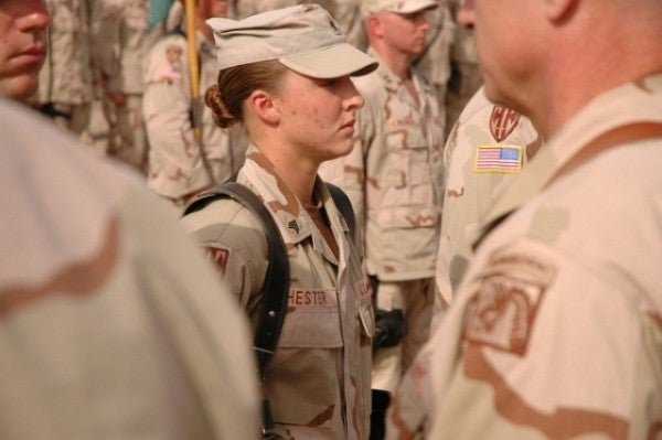 UNSUNG HEROES: The Woman Soldier Who Received The Silver Star In Iraq