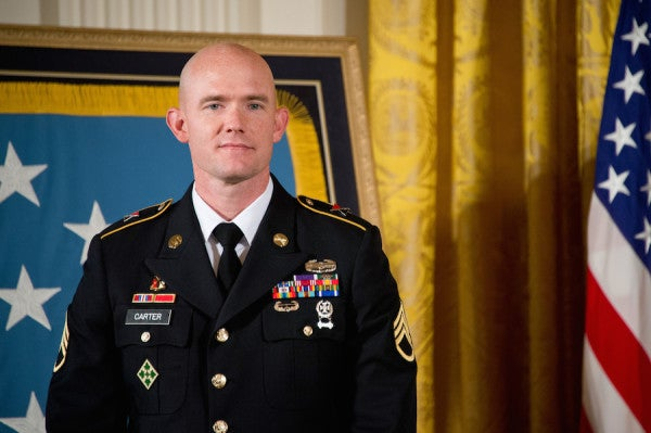 Medal Of Honor Recipient Reveals Battle With PTSD