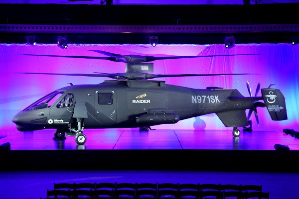 Sikorsky Rolls Out Radical Helicopter Prototype