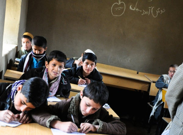 I Learned The Value Of An Education In Afghanistan