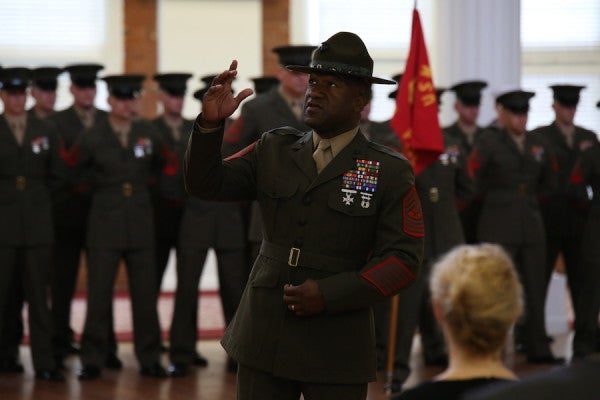 Ousted Parris Island Sgt Maj From Viral Video Tells His Story