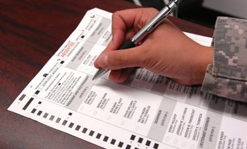 If You're In The Military And Don't Vote, You're Neglecting Your Duty
