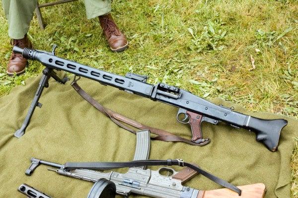 Scariest Machine Gun of World War II