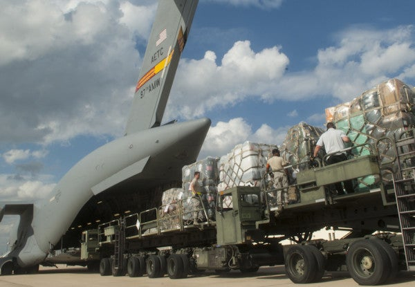 Airmen Are The Backbone Of The U.S. Mission Combating Ebola