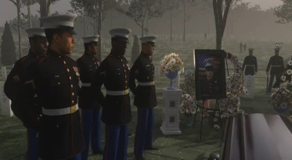 Why The Funeral Scene From Call Of Duty Advanced Warfare Was A Good Thing