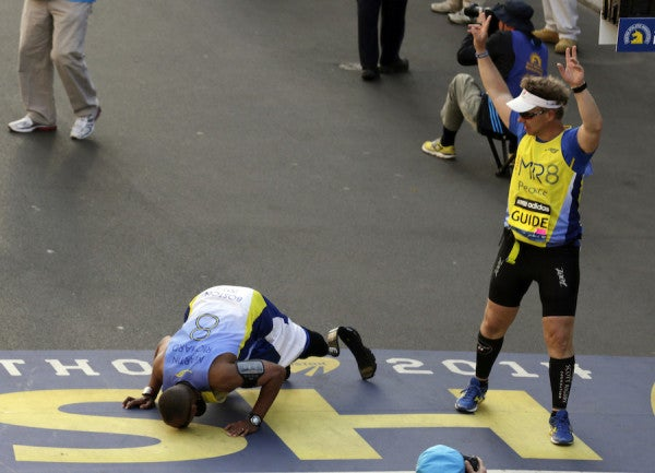 UNSUNG HEROES: The Double Amputee Who Refused To Quit The NYC Marathon