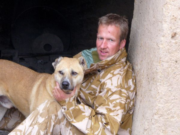Royal Marine Wins Hero Award For Reuniting Troops With Dogs Left Behind