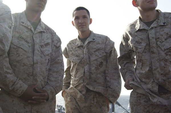 Police Detain Man For Walking With His Hands In His Pockets, Which Marines Find Hilarious