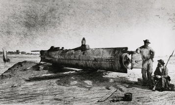 The Story Behind The First Submarine To Sink A Warship