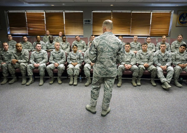 The Air Force's Mixed Messaging Problem