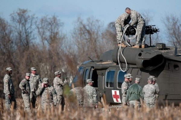 National Guard Black Hawk Crew Survives Dramatic Landing