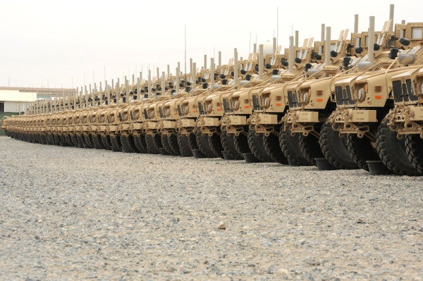The Incredible Logistics Enabling The End Of The War In Afghanistan