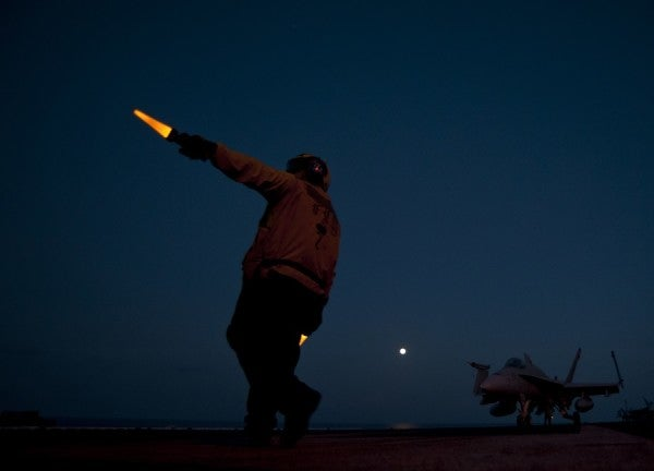 An Inside Look At The Carrier Launching Strikes Against ISIS