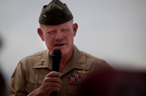 It Takes This Badass Marine General 48 Seconds To Fire Up His Troops For A Field Exercise