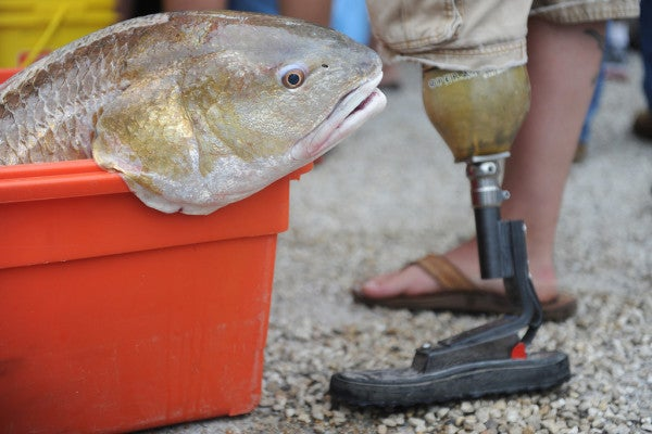 One Vet's Mission To Change The Lives Of Wounded Warriors Through Fishing