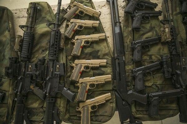 Here's How Marine SWAT Teams Gear Up