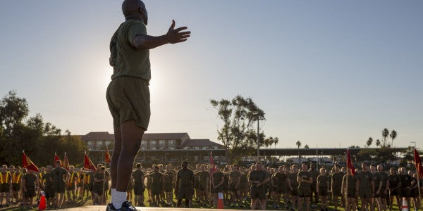New Top Enlisted Marine Selection Refreshes One Of The Dumbest Debates In The Marine Corps
