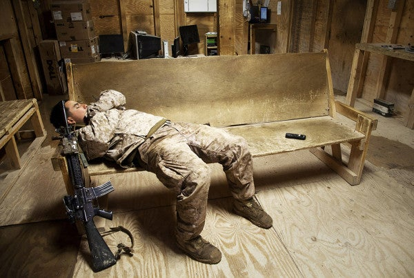 How Does Combat-Related Stress Affect Your Sleep?