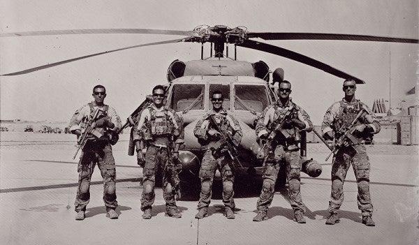 Photographer Uses Vintage Technique To Capture Modern Warfare