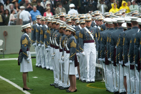 Sexual Assault At Military Academies Is Dropping