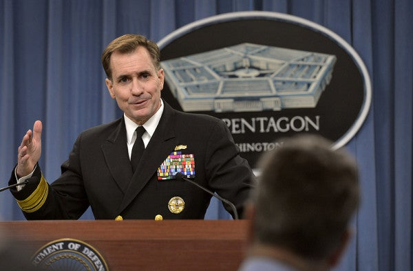 Respected Admiral Is Out As Pentagon Press Secretary, New Defense Secretary Orders