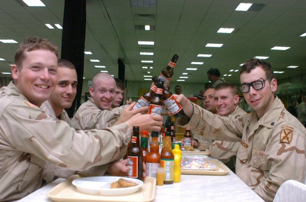 Drinking In The Military Has Big Collateral Damage