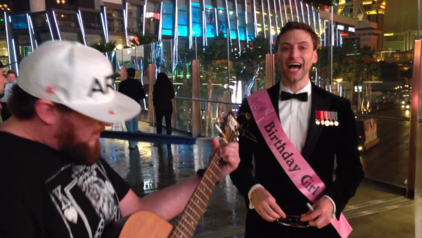 Here's What Happened When One Marine Vet Ate Mushrooms And Took A Trip To Vegas