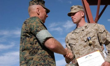 UNSUNG HEROES: This Marine Singlehandedly Cleared An Enemy Trench During The Invasion Of Iraq