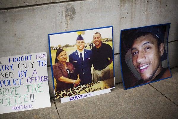 Atlanta Shooting Victim, Military Veteran, Sought To Lead A Good, Sensible Life