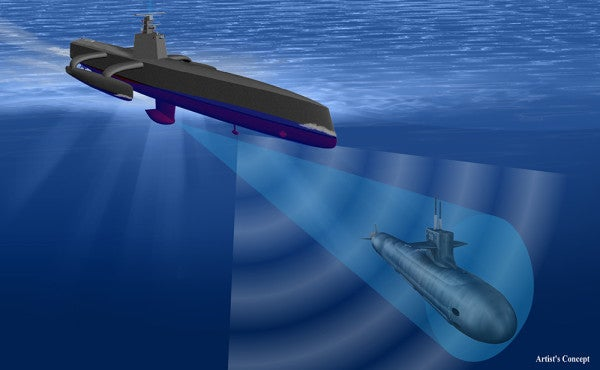 This Robotic Ghost Ship Could Change Naval Warfare