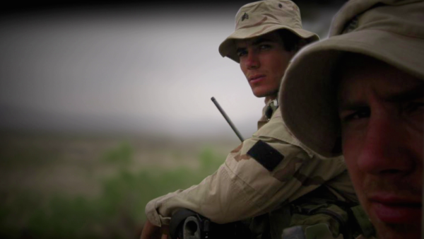 An Unflinching Look At Two Friends Together Overcoming The Effects Of War