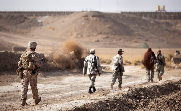 Everything I Really Need To Know I Learned From Afghan Security Forces