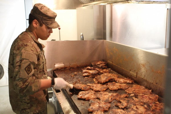 Watch American Soldiers Get Attacked By The Taliban, Keep Grilling Steaks