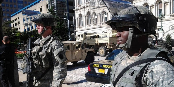 500 National Guardsmen In Baltimore, 1500 more Expected