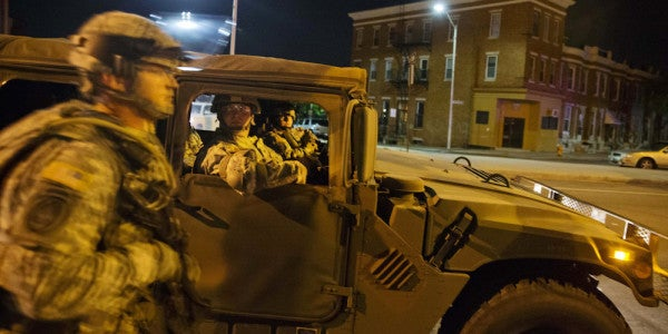 CNN's Reporter Was Dead Wrong About Modern Veterans And The Baltimore Riots