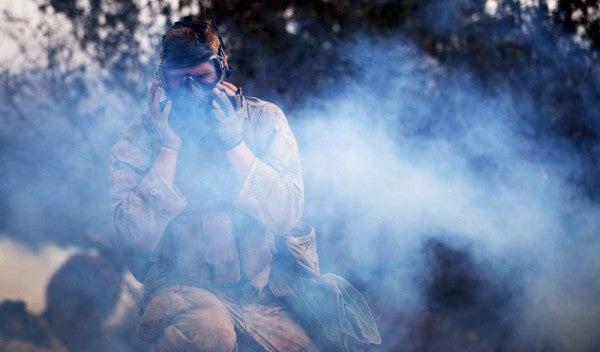 The New Riot Police Smoke Bomb Stinks